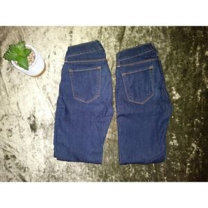♡2 pairs of low rise jeans♡